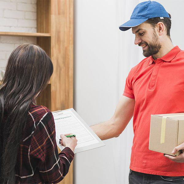 Distribuição porta a porta de pequenos volumes valor