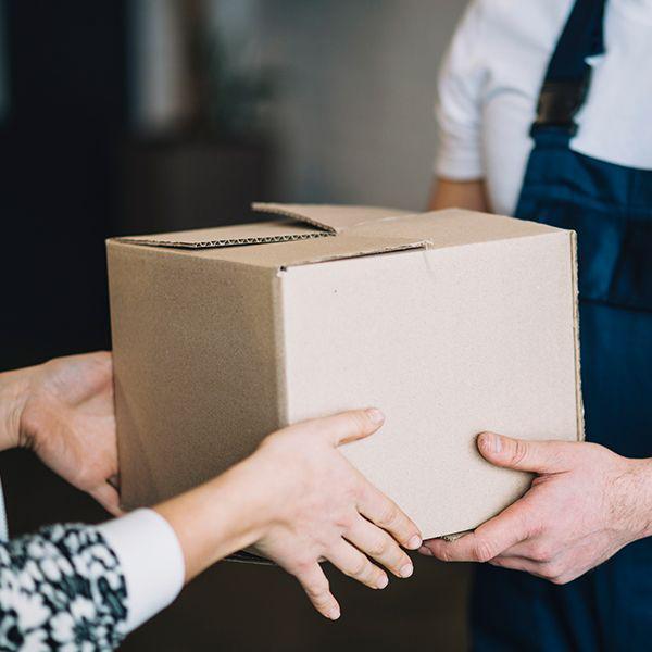 Empresa de entrega de encomendas valor