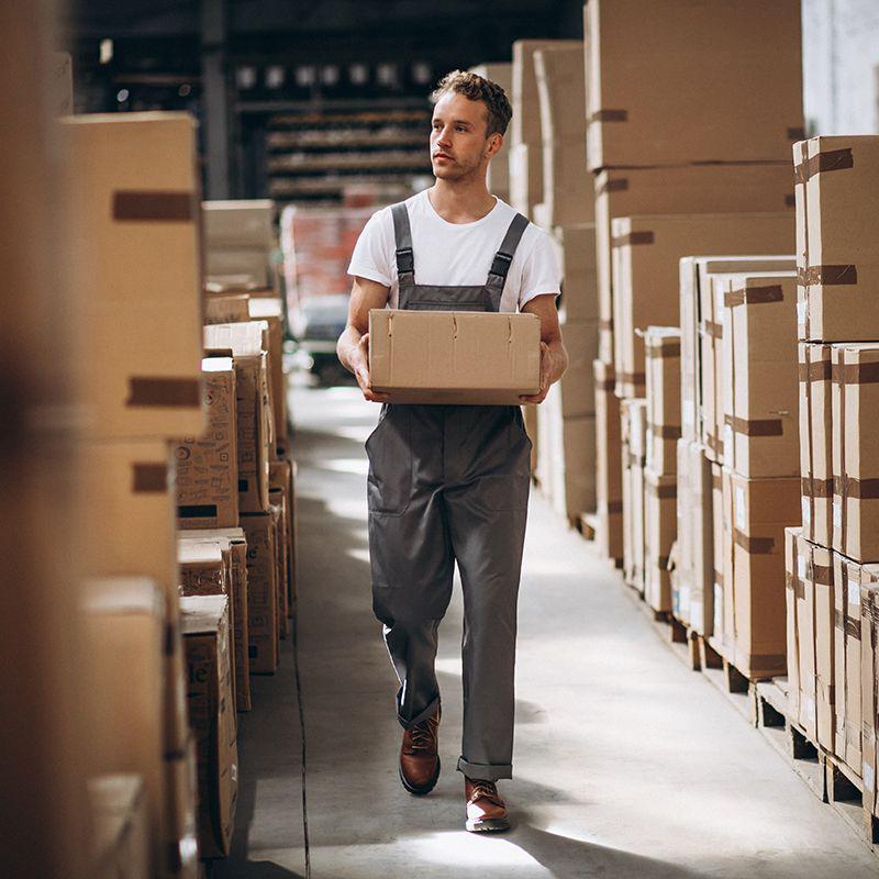 Empresa de manuseio de produtos logistica