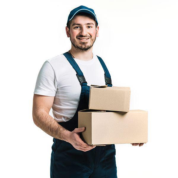 Enviar mercadoria via correio