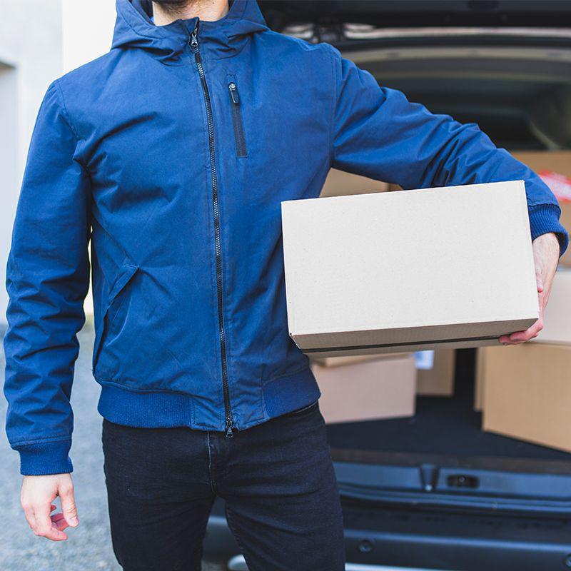 Orçar empresa de entrega encomendas porta a porta