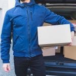 Entrega de encomendas correios