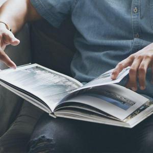 Entrega de revistas
