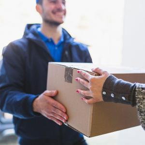 Envio de encomendas pelo correio